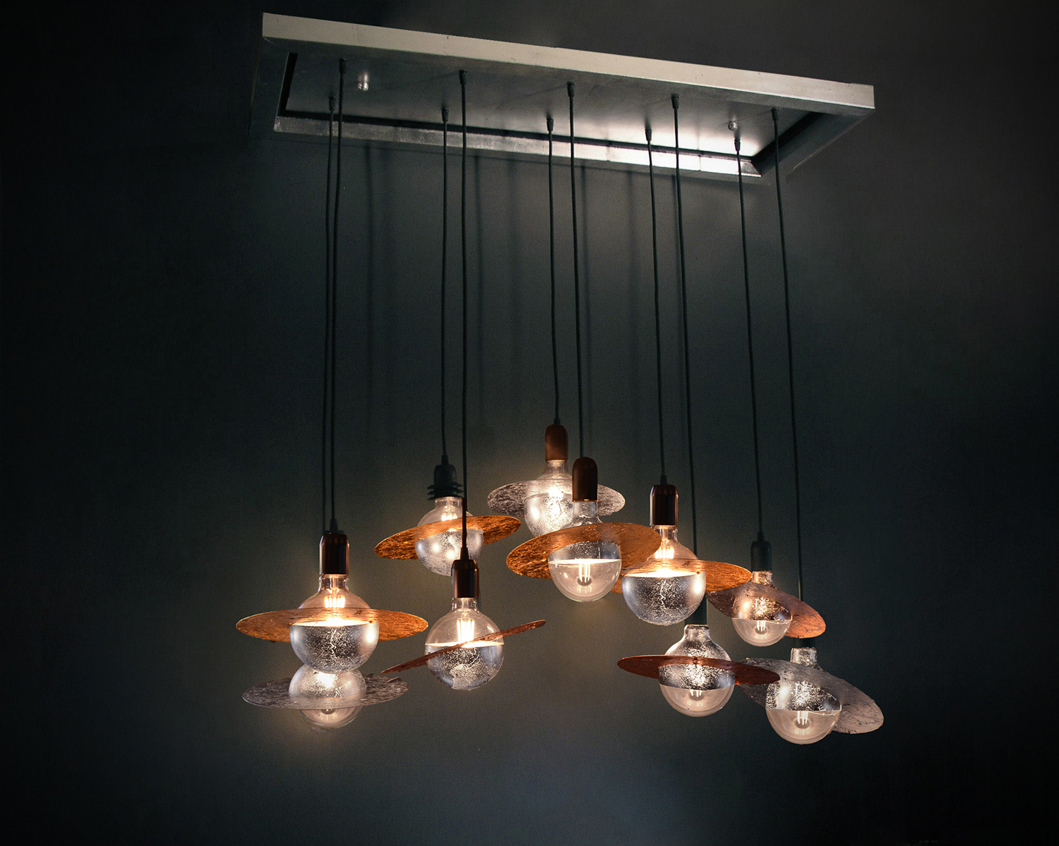 Galaxy 10 - Ceiling Light fixture