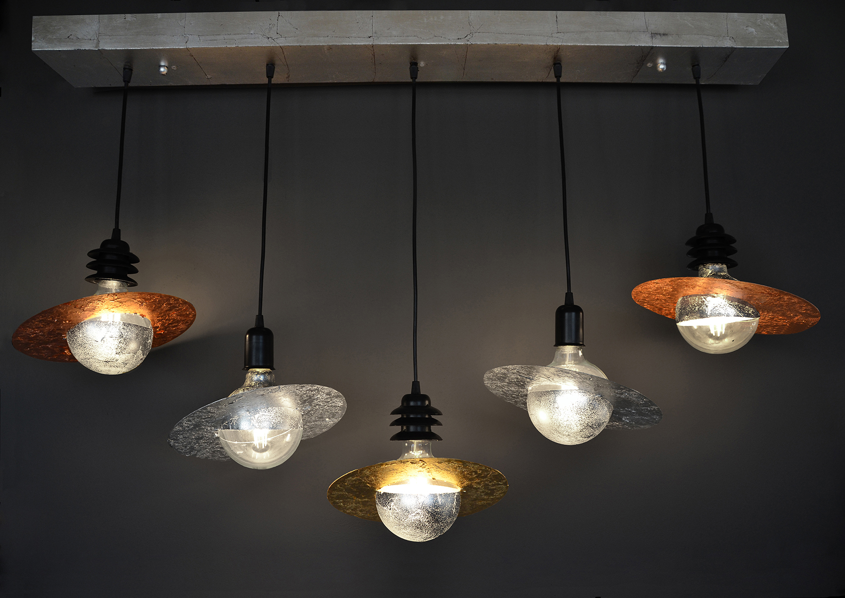 Galaxy 5 Bar - Ceiling Light fixture