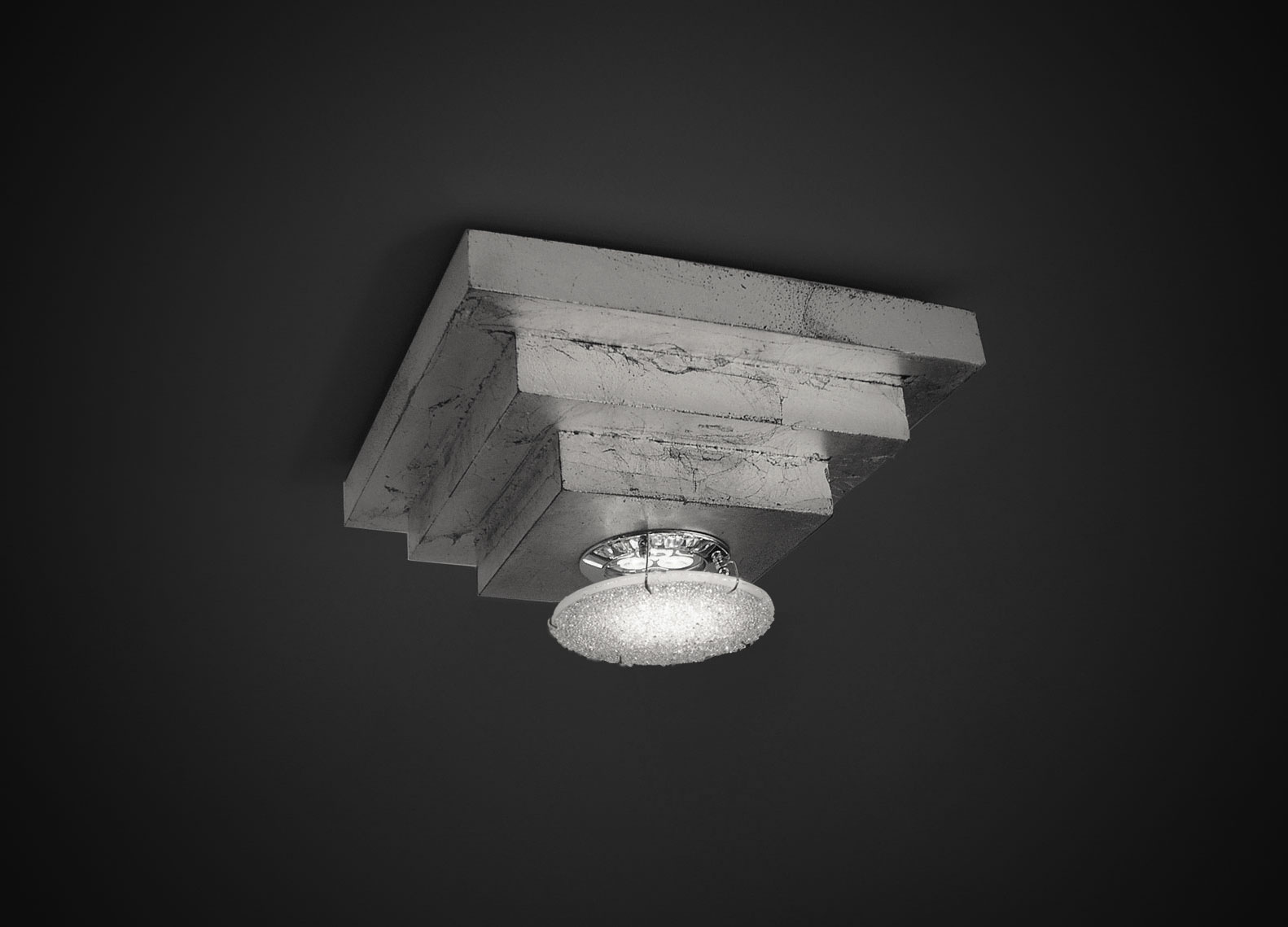 Pyramid Ceiling Fixture